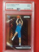 Panini Prizm #280 NBA Dallas Mavericks Luka Doncic PSA 9 Rookie