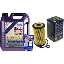 5L Liqui Moly 5W-40 Aceite de Motor + Sct-Filter Chrysler Voyager IV Rg Rs 2.5