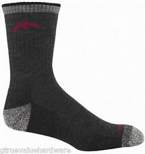 Darn Tough 1466 BLACK Merino Wool Mens Hiker socks L XL Hike Boot Work CUSHION