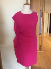 James Lakeland Dress Size 18 BNWT Pink Asymmetric RRP £159 Now £30