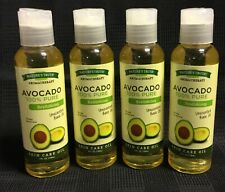 4 Pk Nature's Truth Aromatherapy Avocado 100% Pure Unscented Base Oil 4 oz (D)