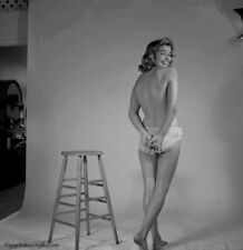 Bunny Yeager 1954 Camera Negative Photograph Pretty Bashful Pin-up Nanci White