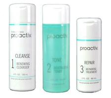 Proactive Set of 3 Acne Treatment Skin Smoothing Exfoliator Oil Control 60 Day