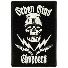 Seven Sins Choppers ZOMBIE GLOW PATCH misfits davidson vest triumph xs650