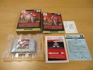 N64 NINTENDO 64 Spiel - CASTLEVANIA REAL ACTION ADVENTURE - OVP - JPN - JAPAN