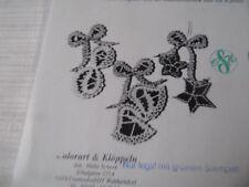 Klöppeln Klöppelbrief Baumschmuck Motive für Karten  6030 Basteln  Dekoration