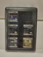 Nintendo DS Games Lot of 22 Games with Case - Fast Shipping