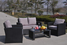 Up to 4 Seats Garden & Patio Furniture Sets with 4 Pieces Sofas