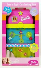 2001 Barbie Save in Style Electronic Talking Coin Sorting Bank No. 43900 NRFB