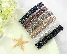 Girls Women Bling Headwear Crystal Rhinestone Hair Clip Barrette Hairpin AV