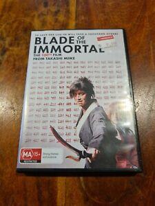 Blade Of The Immortal DVD Region 4 Australia Takeshi Miike