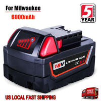 Replace For Milwaukee 18V Lithium XC6.0 Battery  M18 M18B4 48-11-1828 48-11-1850