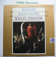 MABEL MERCER - Merely Marvelous - Excellent Condition LP Record Atlantic SD 1322
