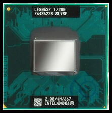 1 Intel SL9SF Core 2 Duo Mobile T7200 2.00GHz/4MB/667MHz Socket M CPU test  ok