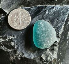 A Large Teal Blue Nugget - Genuine Icelandic Sea Glass