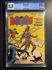 Batman 40 CGC Joker cover Golden age key