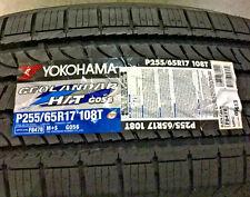 4 New 255 65 17 Yokohama Geolandar H/T G056 Tires