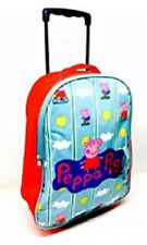 PEPPA PIG SUITCASE TROLLEY CABIN BAG BRAND NEW HOLIDAY ON WHEELS NEW