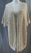 a.n.a., Small, Pebble, Open Front, Short Sleeve Cardigan, New with Tags
