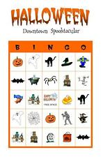 Halloween Holiday Party Game Activity Bingo Cards