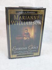 Marianne Williamson  EVERYDAY GRACE 1st Edition  Riverhead c. 2002  HC/DJ SIGNED