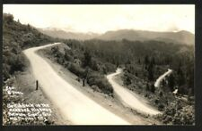 SWITCHBACK ON THE REDWOOD HIGHWAY BETWEEN GRANTS PASS AND CRESCENT CITY (RPPC)