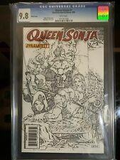 Queen Sonja # 1 CGC 9.8 Mel Rubi Sketch Variant Cover Dynamite 2009
