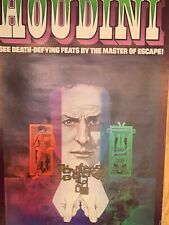 More details for houdini great graphic magic poster