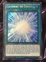 Yu-Gi-Oh! - Gateway to Chaos - SHVA-EN058 - Secret Rare - 1st Edition Mint/NM X1