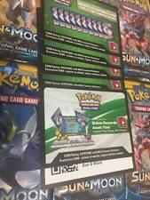[IN-STOCK NOW!] Pokemon Online TCG: Sun and Moon ONLINE CODE