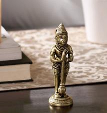 Humble Hanuman Ji Brass Statue Idol Figurine Sculpture Temple Divine Garuda