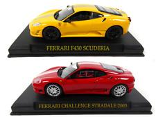 Lot de 2 Ferrari F430 Scuderia + Stradale - 1/43 IXO Altaya Voiture miniature
