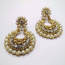 Golden Oxidized Earring Jhumka Jhumki Jewelry Imitation Ethnic Drop Dangle EA167