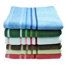 Cotton Bath Towel, Hand Towel, Cloth - Blue, Green, Brown, Ivory, White, Coral