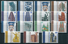Berlin Sehenswürdigkeiten postfrisch SWK Bogenmarken komplett 835,799,832,815...