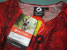 Size S Mens Pactimo Zero-Weight Summer Topo-Red Short Sleeve Baselayer //Stratos