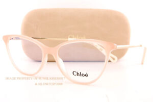 Brand New Chloe Eyeglass Frames CE 2748 601 Rose For Women 53mm