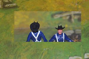 DaBro Civil War Hüte 2 Kavalleriehüte schwarz Hats 7th Cavalry for Timpo 1/32