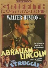 Abraham Lincoln/ The Struggle (DVD, 2008), New Walter Huston, Zita Johann