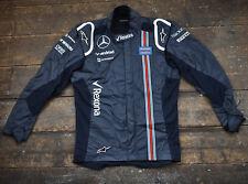 Equipo en boxes Nomex Chaqueta WMR Alpine Stars Talla 54 Williams Martini Racing F1-247