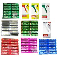 NEW BRAND YOUR FAVORITE 600 RIZLA ROLLING PAPERS WITH 600 SWAN FILTER TIPS SMOKE