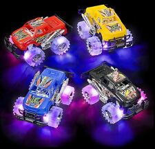 Toys For Boys Kids Toddlers Children Cool Pickup Trucks Gift LED Lights 2 Pieces