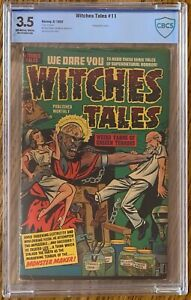 CBCS 3.5 VG- WITCHES TALES #11 (HARVEY,1952) GOLDEN AGE ~