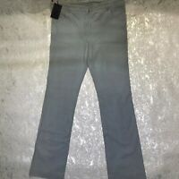 PRADA FLARED TEAL TROUSERS Size 31
