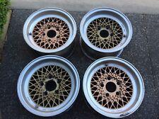 BMW BBS Mahle Mag Wheels 14 x 7 ET11 Offset x 4, E9, E3