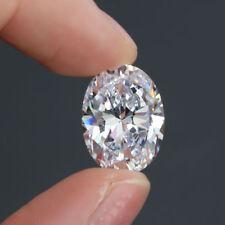 Brilliant 6 x 8 MM Oval Cut D(Clear) VVS1 Loose Simulated Diamond