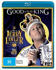 WWE Jerry Lawler It's Good To Be The King Blu-ray 2-Disc Set Brand New