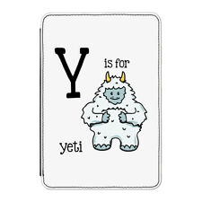 Y Is For Yeti Case Cover for Kindle Paperwhite - Funny Alphabet Cute Animal