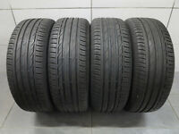 4x Sommerreifen Bridgestone Turanza T001 205/55 R16 91Q / DOT 3417 / 6,8 mm