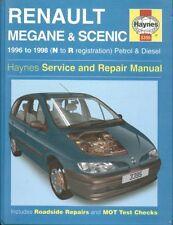 RENAULT MEGANE / COUPE SCENIC 1.4 1.6 2.0 PETROL 1.9 DIESEL '96-98 REPAIR MANUAL
